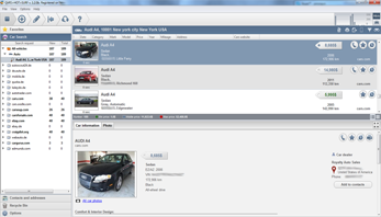 Comparison and evaluation of found cars on Cars HotSurf